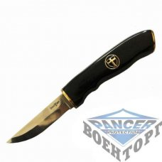 Нож охотничий GW в кож. чехле Black