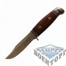 Нож охотничий S.H.M. дерев. Ручка