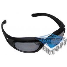 Очки Army sports glasses ,  Assault  , black , 3 spare glasses