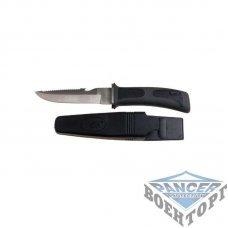 Нож Diving knife , leg holster, black