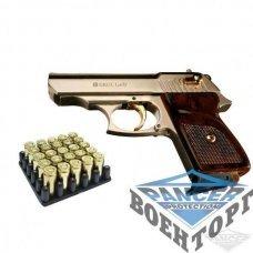Пистолет сигнальный EKOL LADY (сатин с позолотой)