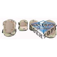 Тактические наколенники + налокотники U.S.Army мультикам