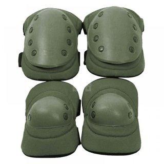 Тактические наколенники + налокотники U.S.Army олива