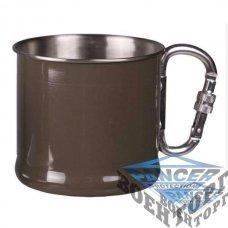 Чашка MIL-TEC Karabiner Cup 500 ml OD