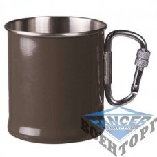 Чашка MIL-TEC Karabiner Cup 250 ml OD