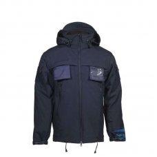 Куртка SOFT SHELL для полиции темно синяя