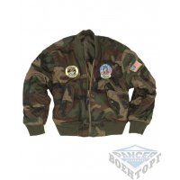 Куртка W/L MA1 KIDS FLIGHT JACKET W. PATCHES