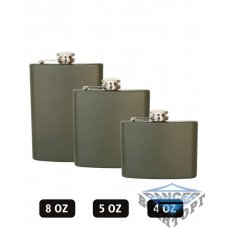 Фляга армейская OD FLASK 4 OZ (110 ML)