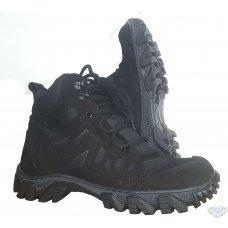 Ботинки тактические Хантер черные нубук