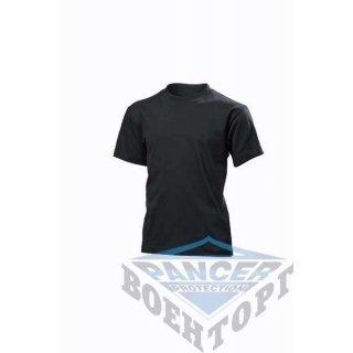 Детская футболка черная