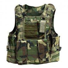 Бронежилет FSBE AAV 4-й класс защиты Woodland