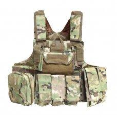 Бронежилет CIRAS MAR. 6-й класс защиты Multicam