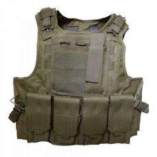 Бронежилет FSBE AAV 4-й класс защиты Coyote Brown