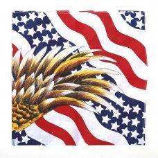 Бандана 101Inc Flag USA w/Eagle