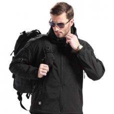 Куртка Soft Shell черная ESDY