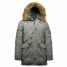 Куртка Аляска серая