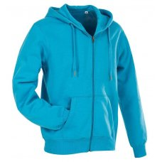 Толстовка мужская голубая ST5610