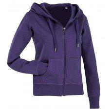 Толстовка женская фиолетовая ST5710