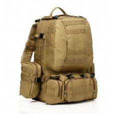 Рюкзак с подсумками койот на 55л
