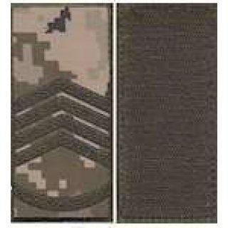 Погоны МО липучка вышитые главный-сержант основа укр.пиксель новые