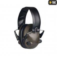 M-Tac наушники стрелковые активные Tactical 6S Olive