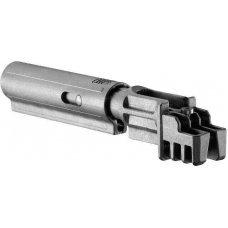 Адаптер приклада FAB Defense SBT-K для АК-47 с компенсатором отдачи. Цвет - черный