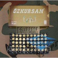 Патроны холостой пистолетные 8мм (Турция, OZKURSAN)