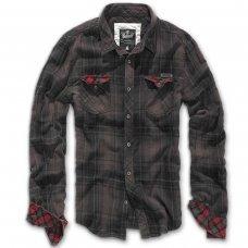 Рубашка Brandit Check Duncan BROWN-BLACK