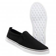 Слипоны Brandit Southampton Slip BLACK-WHITE