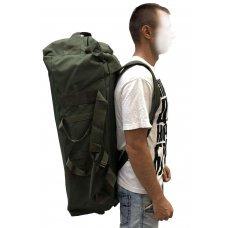 Сумка рюкзак олива 80 л