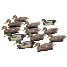 Набор подсадных уток Birdland: 3 селезня; 9 уток; якорные устройстваНабор подсадных уток Birdland: 3 селезня; 9 уток; якорные устройства