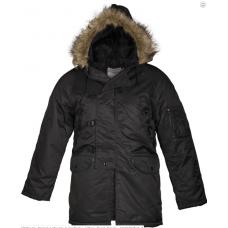 Куртка Аляска черная N3B Германия