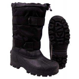 Термо-ботинки, Fox -40 Cрезиновая подошва, черный FoxOutdoor 18403A