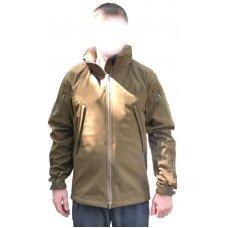 Куртка софт шелл браун койот