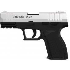 Пистолет стартовый  Retay XR кал. 9 мм. Цвет - chrome.