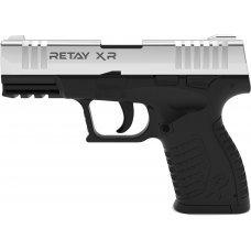 Пистолет стартовый  Retay XR кал. 9 мм. Цвет - nickel.