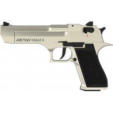 Пистолет стартовый Retay Eagle X кал. 9 мм. Цвет - satin.