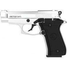 Пистолет стартовый Retay 84FS. Цвет - nickel.