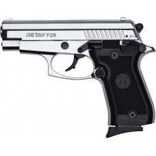 Пистолет стартовый Retay F29 кал. 9 мм. Цвет - Nickel