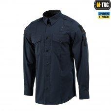 M-Tac рубашка Police Lightweight Flex рип-стоп Dark Navy Blue