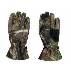 Перчатки Soft Shell сенсорные зимние Pancer лес