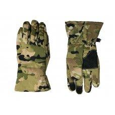 Перчатки Soft Shell сенсорные зимние Pancer мультикам