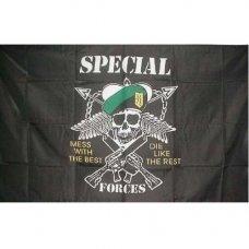 Милтек флаг US Special Forces 90х150см