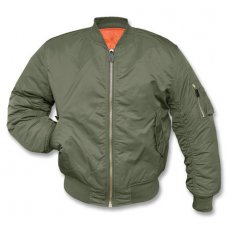 Куртка летная MA1 TEESAR Mil-Tec олива Германия