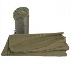 Одеяло флисовое МИЛ ТЕК в чехле олива Германия