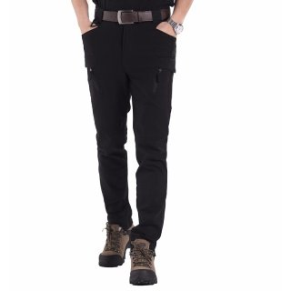 Тактические брюки Esdy стрейч котон Travel черные
