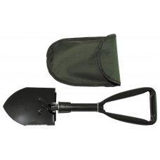Складная мини-лопата военного образца с нейлоновым чехлом, MFH 27034