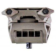 Адаптер для сошек FAB Defense H-POD поворотный, наклонный, на планку Пикатинни, цвет - tan