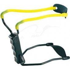 Рогатка Man Kung MK-T11 с упором ц:черный/желтый