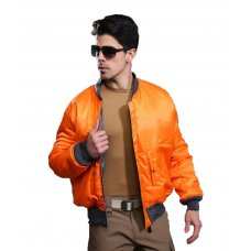 Куртка Бомбер ESDY оранжевая